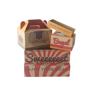 Custom Bakery Kraft Packaging Boxes 2