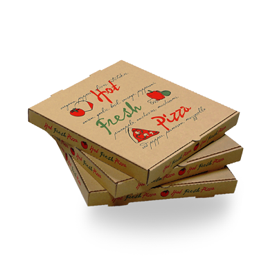 Custom Cardboard Pizza Packaging Boxes 4