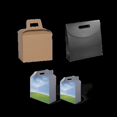Custom Cardboard Carry Packaging Boxes 3