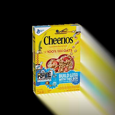 Custom Rube Goldberg Cereal Boxes 1