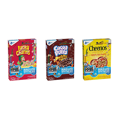 Custom Rube Goldberg Cereal Boxes 4