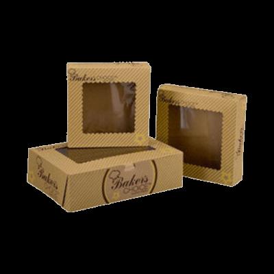 Custom Brown Bakery Boxes 2