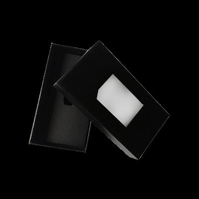 Custom Window Tie Packaging Boxes 2