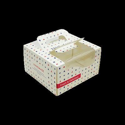 Custom Window Cake Packaging Boxes 2