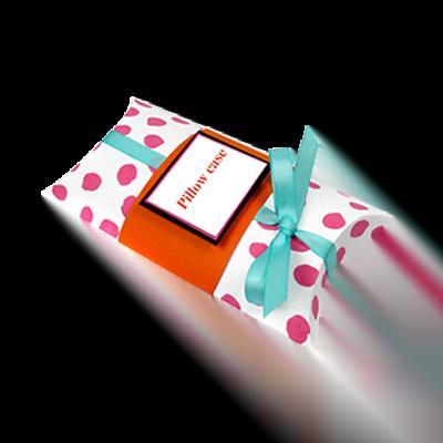 Custom Logo Pillow Boxes 2