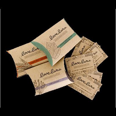 Custom Kraft Paper Pillow Soap Boxes 2