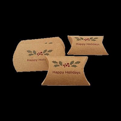 Custom Kraft Paper Pillow Boxes 4
