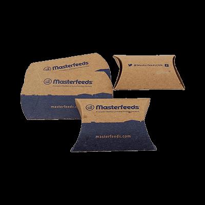Custom Kraft Paper Pillow Boxes 3