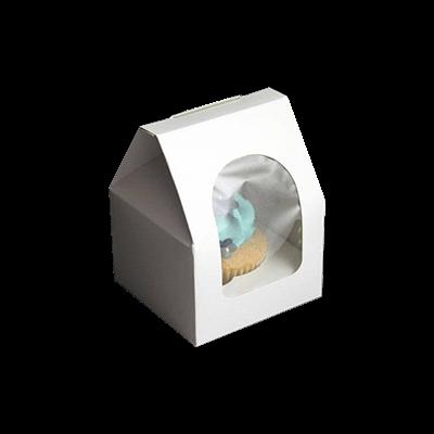 Custom Single Cupcake Boxes 1