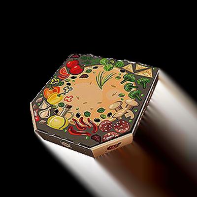 Custom Unique Shaped Pizza Boxes 4