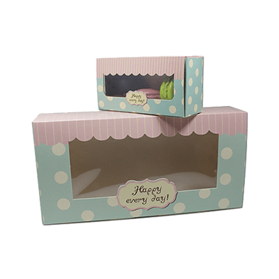 Custom Window Dessert Packaging Boxes 1