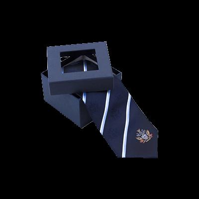 Custom Window Tie Packaging Boxes 1
