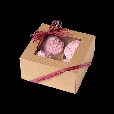 Custom Dessert Kraft Packaging Boxes 2