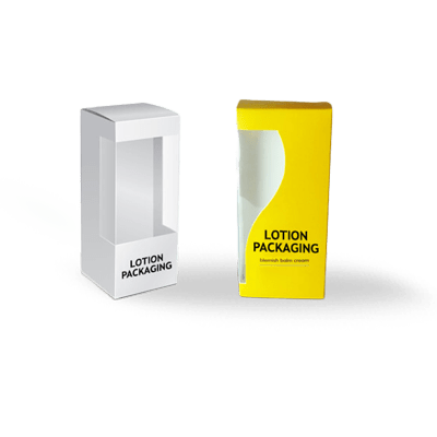 Custom Printed Glossy Lotion Packaging Boxes 2