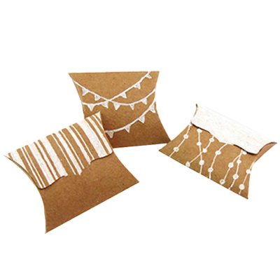 Custom Kraft Paper Pillow Soap Boxes 3