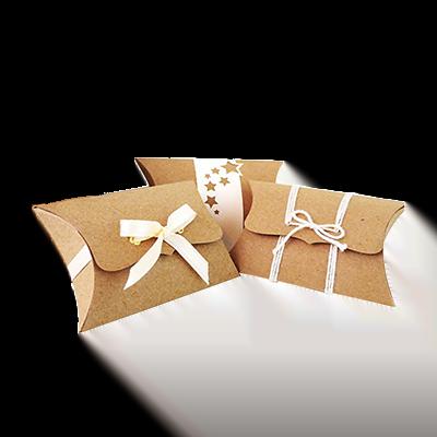 Custom Kraft Paper Pillow Soap Boxes 1