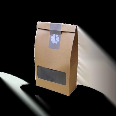 Custom Kraft Window Packaging Bags 1
