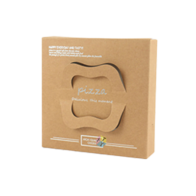 Custom Brown Pizza Boxes 1