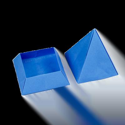 Custom Printed Pyramid Packaging Boxes 1