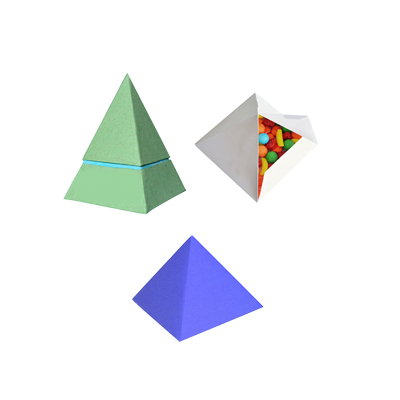 Custom Printed Pyramid Packaging Boxes 3