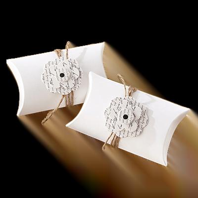 Custom Wedding Gift Pillow Boxes 4