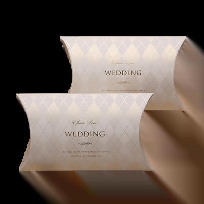 Custom Wedding Gift Pillow Boxes 3