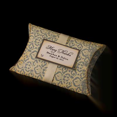 Custom Wedding Gift Pillow Boxes 1