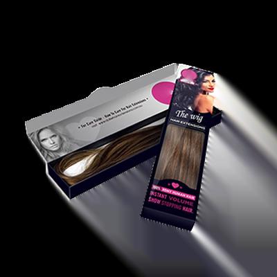 Custom Window Hair Extension Boxes 1